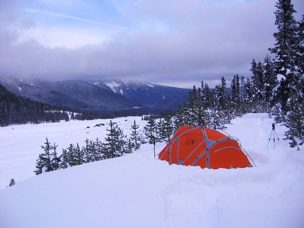 Testing Winter Tent  Ev3   Photos  Diagrams  U0026 Topos   Summitpost