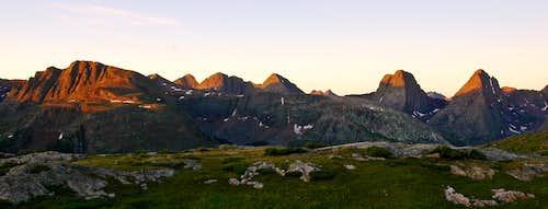 Arrow and Vestal Peaks