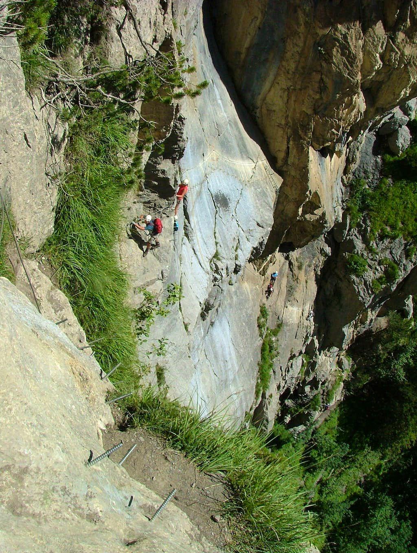 Allmenalp Klettersteig (via ferrata)