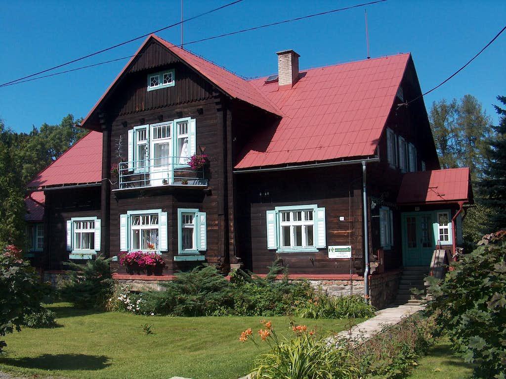 Mountain village of Rejvíz
