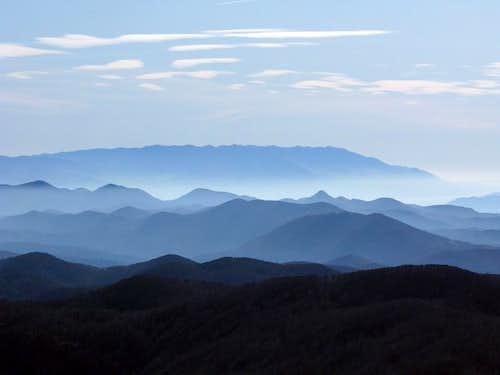 Nice view from Snježnik ridge...