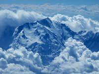 Nanga Parbat from 39,000 feet