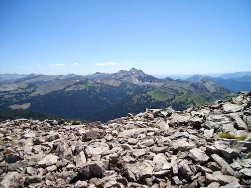East From Jackson Peak