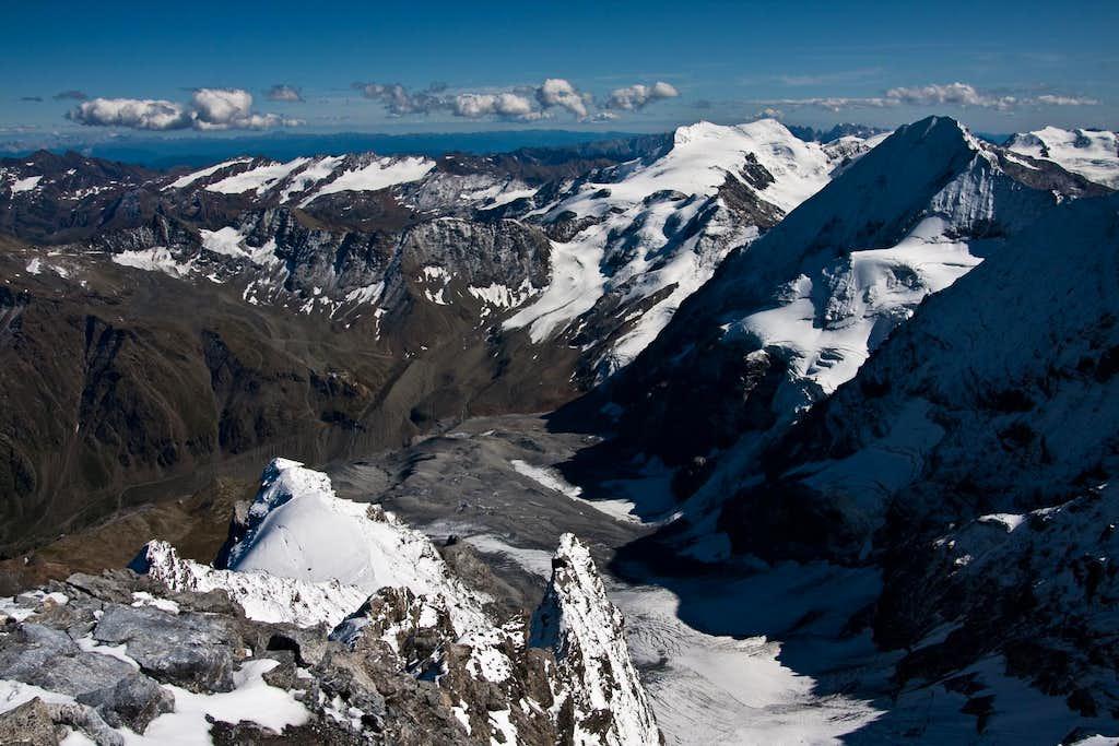 Ortler summit view