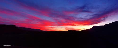 Lee's Ferry Sunset Panorama