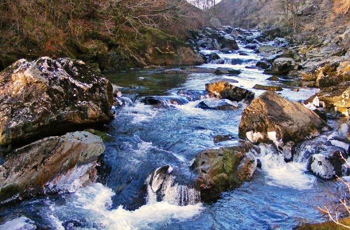 Afon Glaslyn in Aberglaslyn Pass