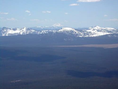 Crater Lake and Mount Shasta...