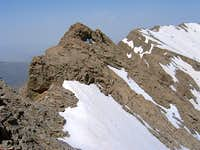 Gendarmes and Point 4010 m