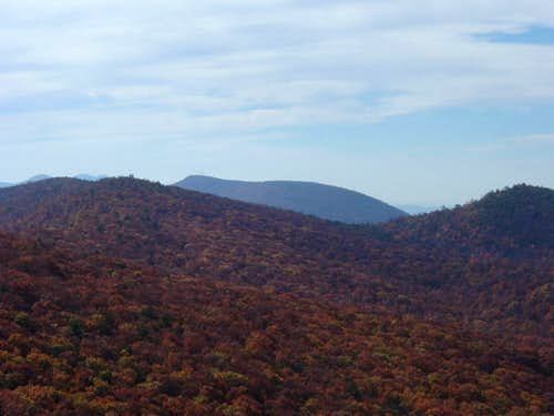 Big Mountain from Duncan Knob