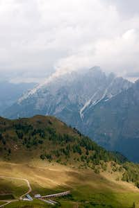 Monte Siera and Picolo Siera