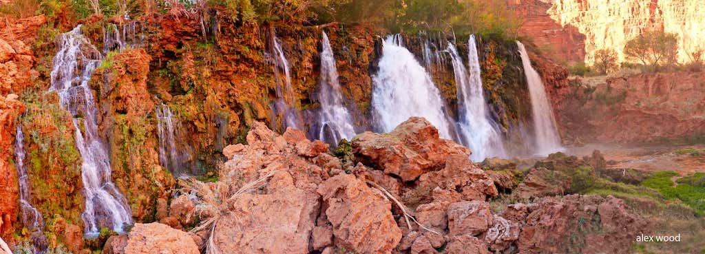 New Navajo Falls Panorama