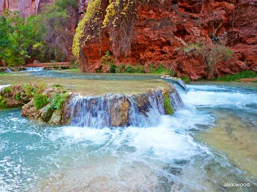 Calcite Falls