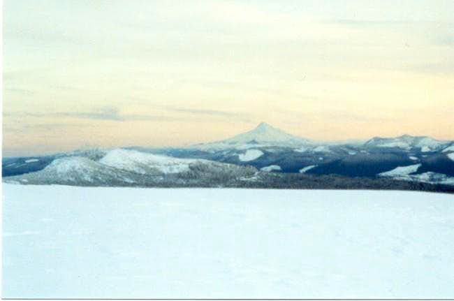 View of Mt. Hood from just...