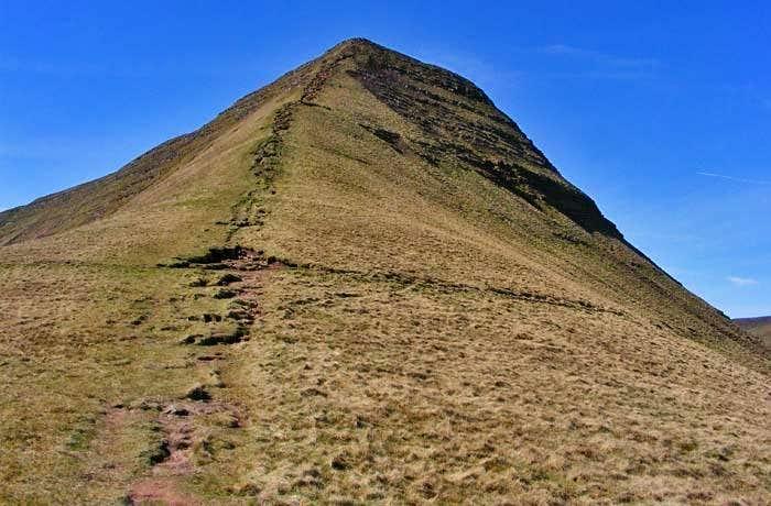 Cribyn North Ridge