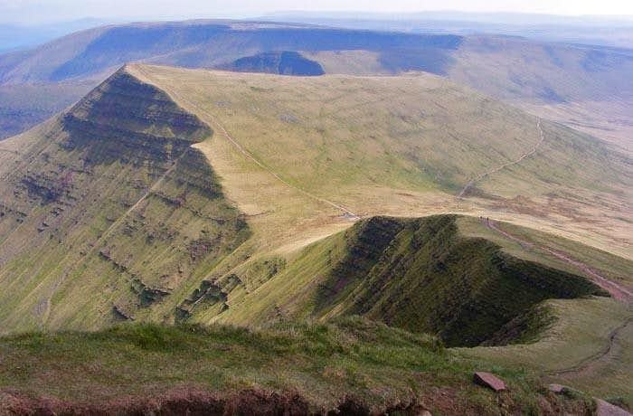 Cribyn and the Beacons Way