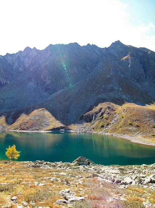 The Palfnersee lake above Badgastein, Austria