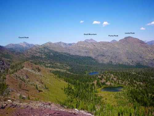 Western Bob Marshall Peaks
