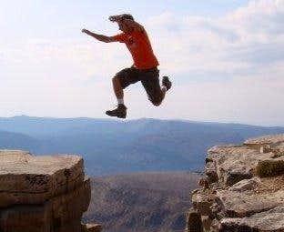 Jumping on Bald Mountain