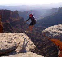 Fun rock near Moab