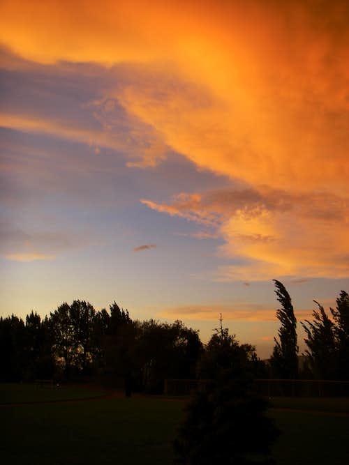 A beautiful sunset....