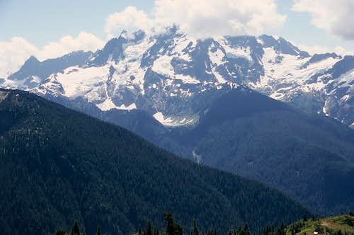 Mount Shuksan from the Goat Mountain Trail