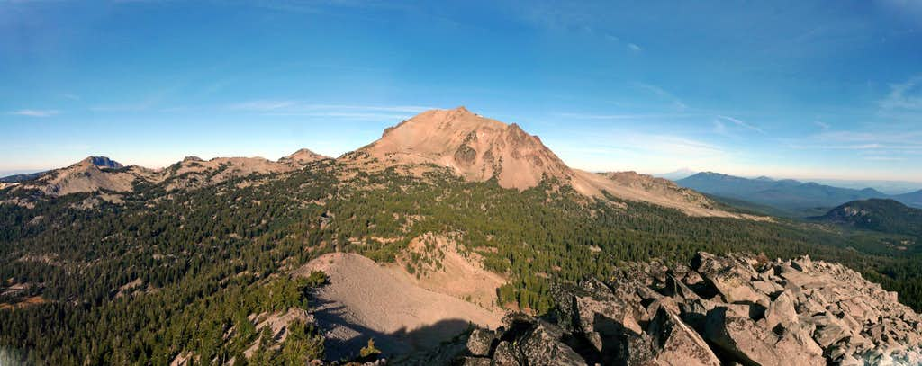 Lassen panorama from Reading Peak