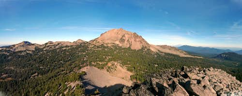 Lassen panorama from Reading Peak