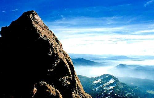 Reading Peak from Lassen Peak