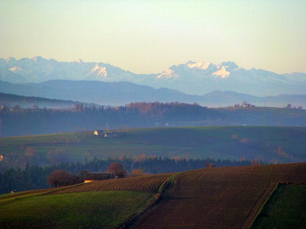 Polish part of Tatras