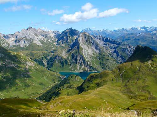 Lake Formarin-Gehrengrat-Lake Spullersee