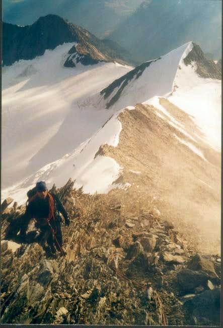 North-east ridge of...