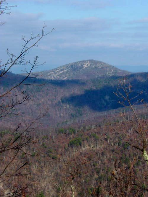 Rockytop from Austin Mountain