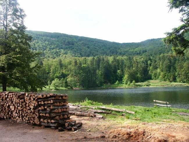Blanchemer Lake and Rainkopf...