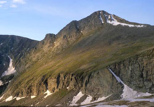 North side of Tijeras Peak