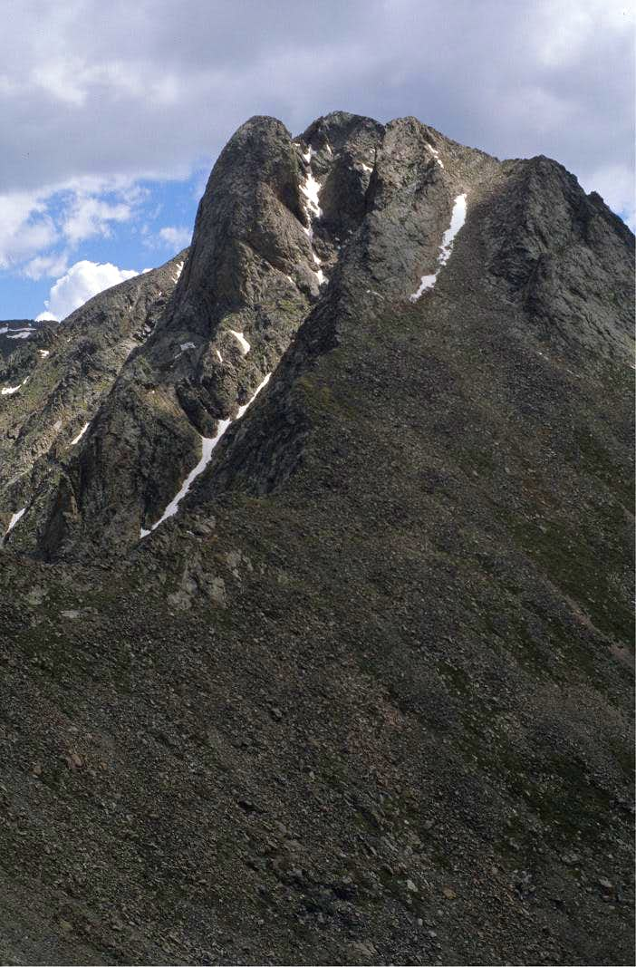 South Ridge of Pico Asilado