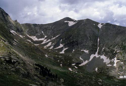 Western side of Tijeras Peak
