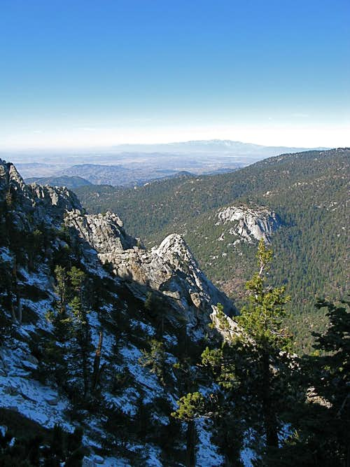 Hiking to Tahquitz Peak