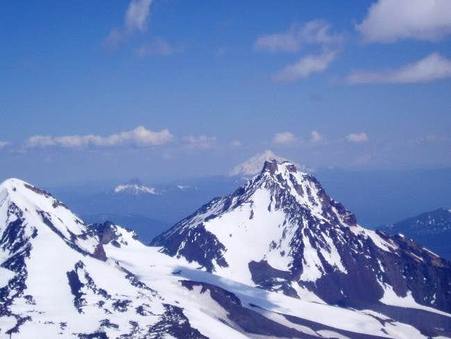 North Sister from the summit...