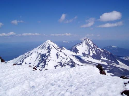 Middle and North Sister from...
