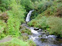 Grey Mares Tail waterfall - Galloway Forest