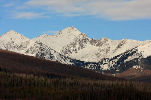 Bowen Mountain (Never Summer Mtns)