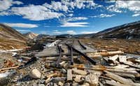 Mt.Sherman, Railroad to nowhere