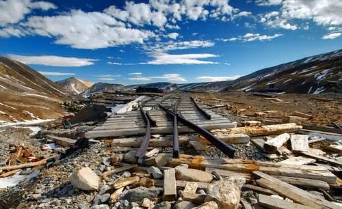 Mt.Sherman, Railroad to nowhere