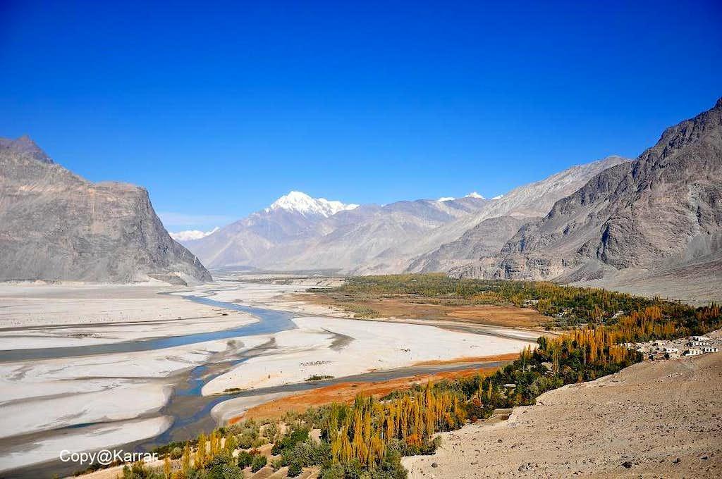 Shigar Valley Baltistan during Autumn