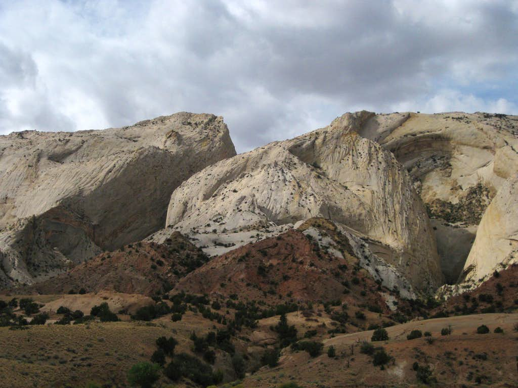 Cliffs of the Waterpocket Fold
