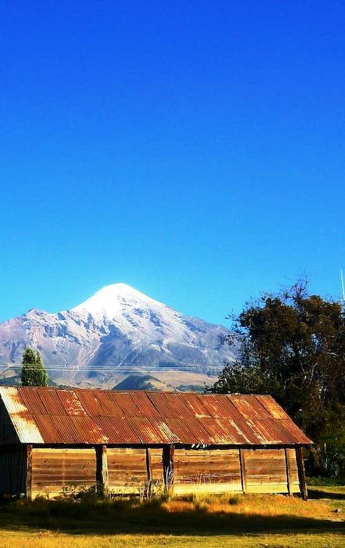 Pico de Orizaba from Zoapan
