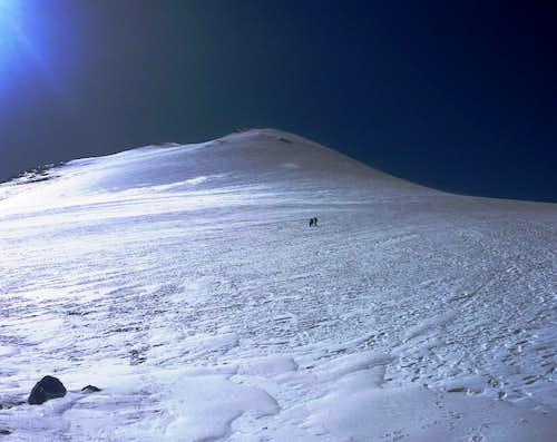 The Jamapa glacier