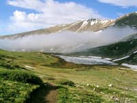Mount Buckskin and Kite Lake