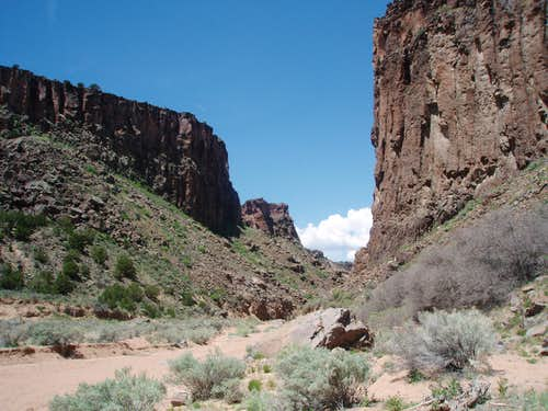 Diablo canyon, New Mexico