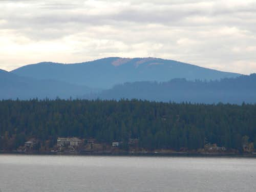 South Chilco Mountain From Hayden Lake